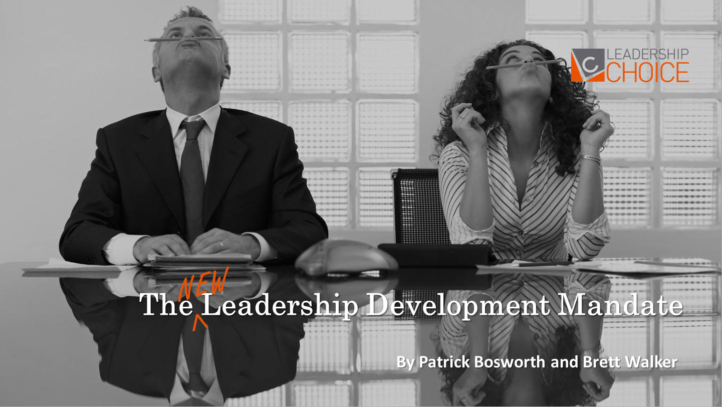 The New Leadership Development Mandate
