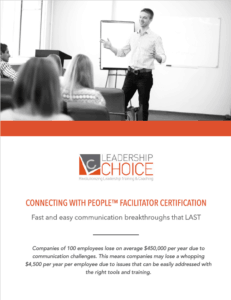 Connecting With People Brochure